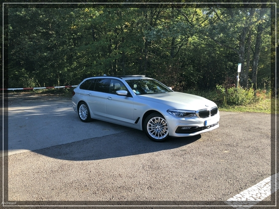 530d xdrive in silber schwarz bmw g31 touring bmw 5er. Black Bedroom Furniture Sets. Home Design Ideas